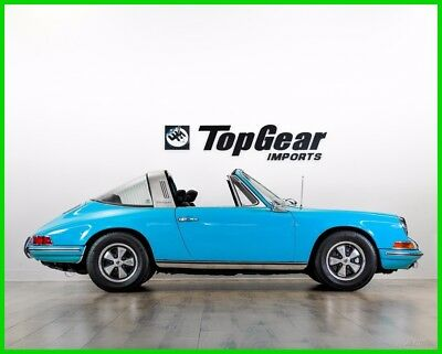 1970 Porsche 911  1970 PORSCHE 911T TARGA UNIQUE COLORS