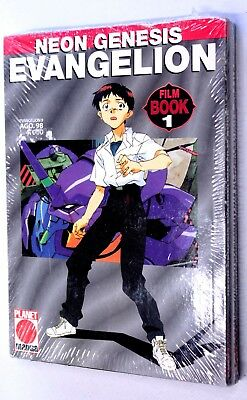 NEON GENESIS EVANGELION FILM BOOK n. 1-3 SEQUENZA COMPLETA Planet Manga 1998