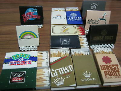 BOOK and BOX MATCHES VINTAGE AND VERY RARE. AUSTRALIAN CASINOS