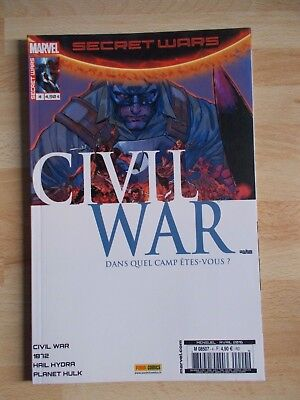SECRET WARS / CIVIL WAR 4 / MARVEL PANINI COMICS avril 2016 état neuf