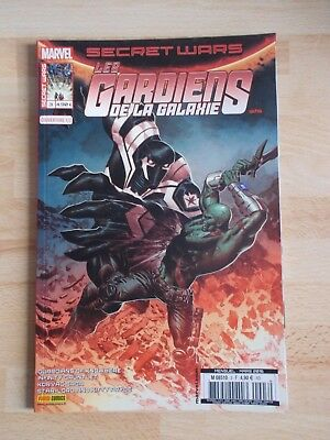 SECRET WARS /LES GARDIENS DE LA GALAXIE 3-3/5 /MARVEL PANINI COMICS mars 2016