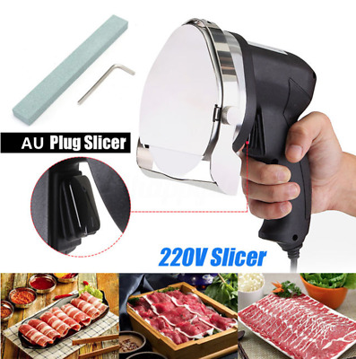 Professional Electric Shawarma Doner Kebab Knife Slicers Cutter Kitchen Tools