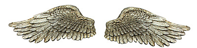 Pair of Angel Wings Vintage Decoration Cherub Wall Art Home Garden Feature Fairy