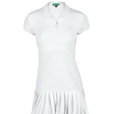 Fred Perry Womens Tennis Dress With Collar.bnwt. Colour. White. Size. 14.