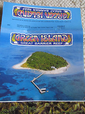 Vintage PEERS Foldout Colour View Folder, Green Island Nth Queensland