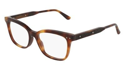 df2a345e32 NEW BOTTEGA VENETA DNA BV 0120O Eyeglasses 002 Havana 100% AUTHENTIC ...