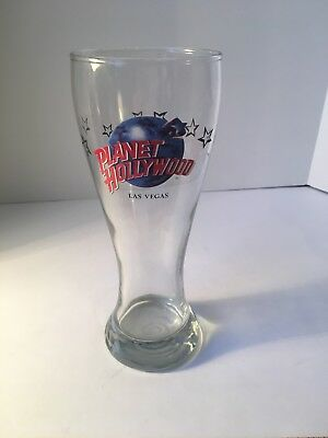 Planet Hollywood Las Vegas Pilsner Beer Glass