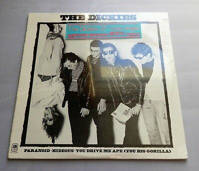 "The Dickies - Paranoid USA 1978 A&M White Vinyl 10"" *New & Sealed*"