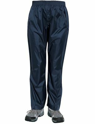 Mens Rain Trouser With Storm Water Proof Over Trouser Fishing Camping Carry Bag