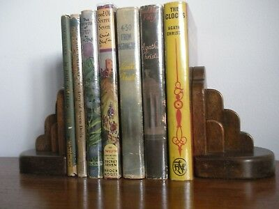 Art Deco Wooden Bookends - Offers Considered