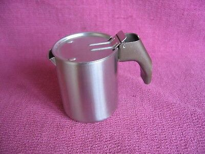 "Rare Vintage Alessi Stainless Steel Milk / Cream Jug - Approx 3"" Tall"
