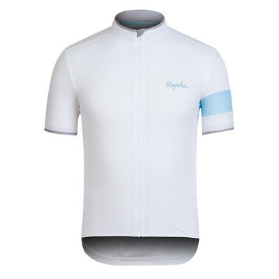Rapha White Super Lightweight Jersey. Blue Armband. Size M. BNWT.