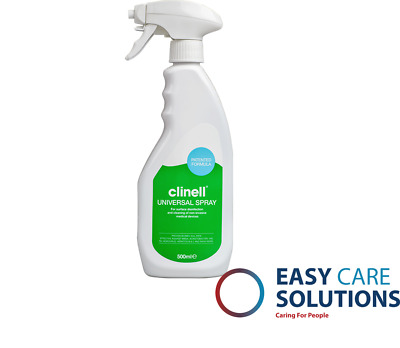 Clinell Disinfectant Spray - 60ml or 500ml,  Surface Sanitising