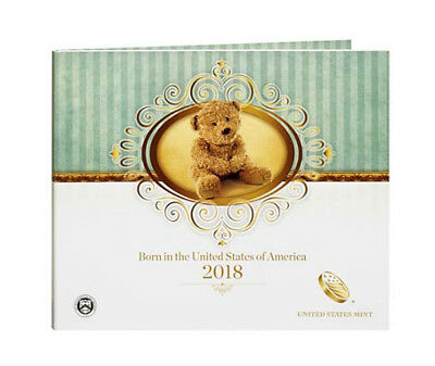 2018 US Mint Birth coins Set for new born Baby - Same Day Shipping!!!