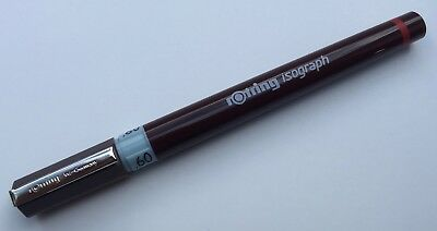 ROTRING ISOGRAPH TECHNICAL DRAWING PEN - 0.6mm 0,6mm NIB SIZE - NEW