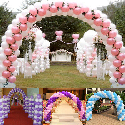 Large Balloon Arch Column Base Stand Frame Kit Birthday Wedding Party Decoration