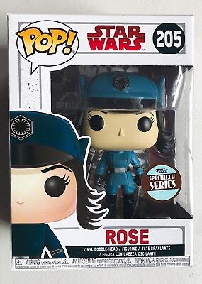 Funko Pop! Rose In Disguise Star Wars Last Jedi Specialty Series Exclusive New