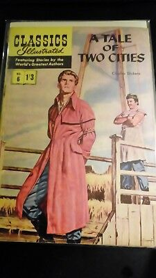 Classics Illustrated no 6.....A tale of two cities