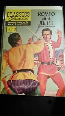 Classics Illustrated no 13........Romeo and Juliet