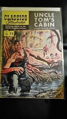 Classics Illustrated no 15......uncle Tom' cabin