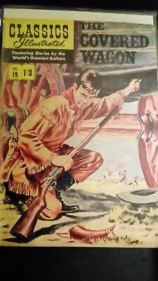 Classics Illustrated no 19......The covered wagon
