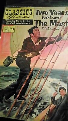 Classics Illustrated no 25....two years before the mast