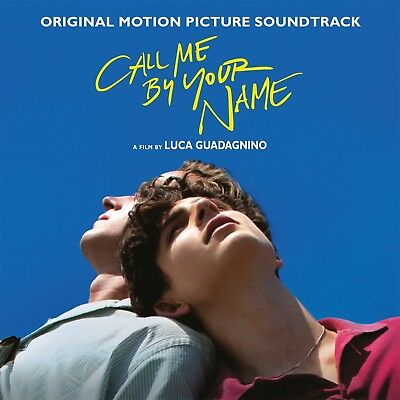 Call Me By Your Name 180gm 2LP VINYL Album Music (not blue)