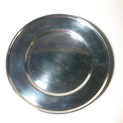Vintage Sterling Silver Charger Plate, M Fred Hirsch 5.1oz