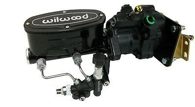 1964-72 CHEVY CHEVELLE Hydro-Boost Power Brake Booster with Black Wilwood  Master