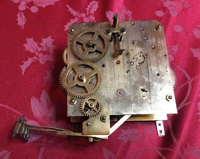 B&FG Foreign Chiming Movement Spare Or Repair
