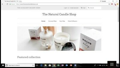 The Natural Candle Shop - Business For Sale