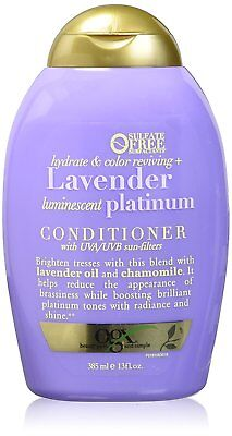 78969f05a OGX Hydrate and Color Reviving Lavender Luminescent Platinum Conditioner 13  oz