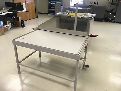 USED MBM Ideal 1110 Kutrimmer Paper Trimmer Cutter Manual Challenge NO RESERVE
