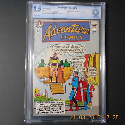 Adventure Comics #314 (Nov 1963, DC) CBCS (8.5)