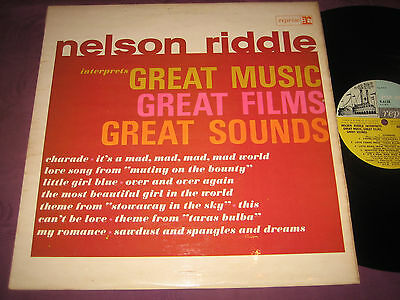 LP Nelson Riddle: Interprets Great Music, Great Films, Great Sounds - UK Reprise