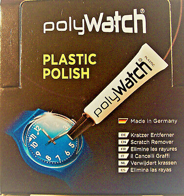 Polywatch Plastic Polish Watch Glass Restorer Swatch Fossil Etc  Uk Seller