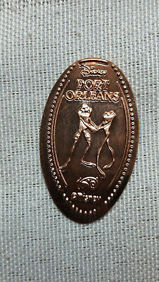 Disney World Pressed Smashed Elongated Penny Tiana Naveen Frogs Port Orleans P15
