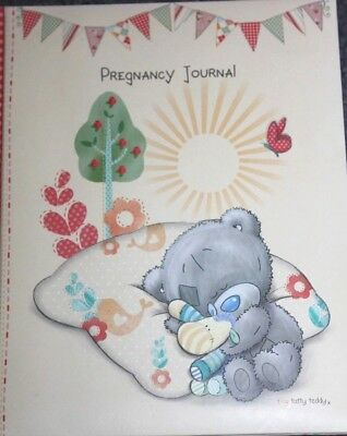 Hardcover - Carte Blanche BOOK - Pregnancy Journal - A fill in journal/diary