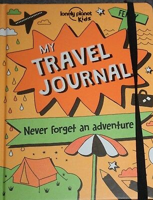 BOOK - Lonely Planet Kids - MY TRAVEL JOURNAL - a fill in diary/record book