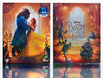 BEAUTY AND THE BEAST 2D+3D [Blu-Ray], Limited 450, (STEELBOOK), FULL SLIP BOX~