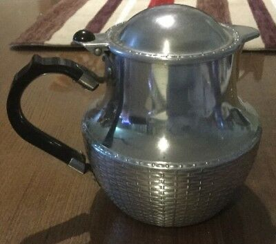 Lovely Old Funky Vintage Wikka Wear teapot with Bakelite handle. VGC. Cheap