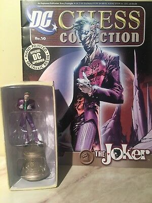 DC Chess Collection Comic & Figurine - THE JOKER - Collectible Eaglemoss NEW