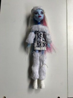 Monster High Doll - Abbey Bominable Abby Signature First Wave 1