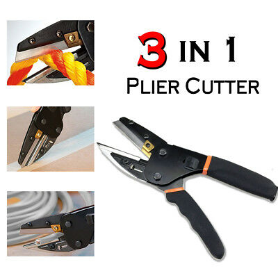 Multi-Function Cut 3 In 1 Plier Power Cutting Tool With Built-In Wire Cutter UK