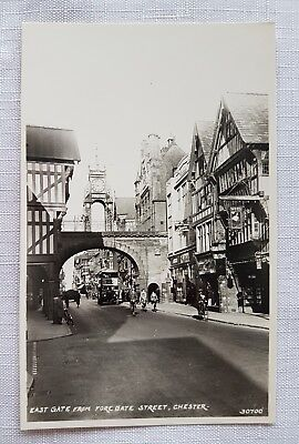 EAST GATE FORE GATE STREET CHESTER Real Photograph  Postcard-Vintage Unused