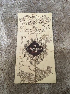 Authentic Harry Potter Marauders Map