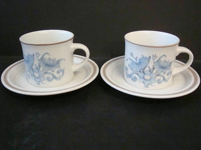Royal Doulton Inspiration 2 X Large Cups And Saucers