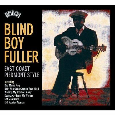 Blind Boy Fuller-East Coast Piedmont Style  (UK IMPORT)  CD NEW
