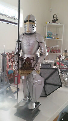 Medieval Suit of Knights Armor High Quality for Home and Office Decoration