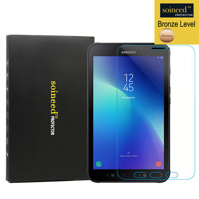 """SOINEED Tempered Glass Screen Protector For Samsung Galaxy Tab Active2 8.0"""" T390"""